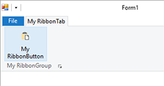 Customizing the Text Control Ribbon control