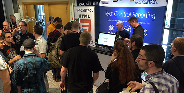 Text Control is platinum sponsor at dotnet Cologne 2017
