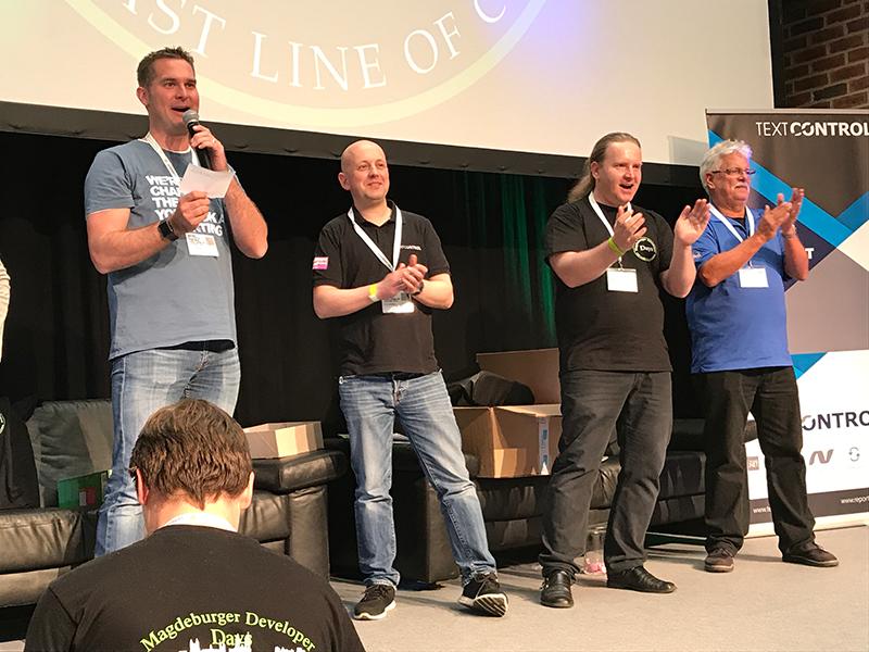 Text Control at Magdeburger Developer Days 2017