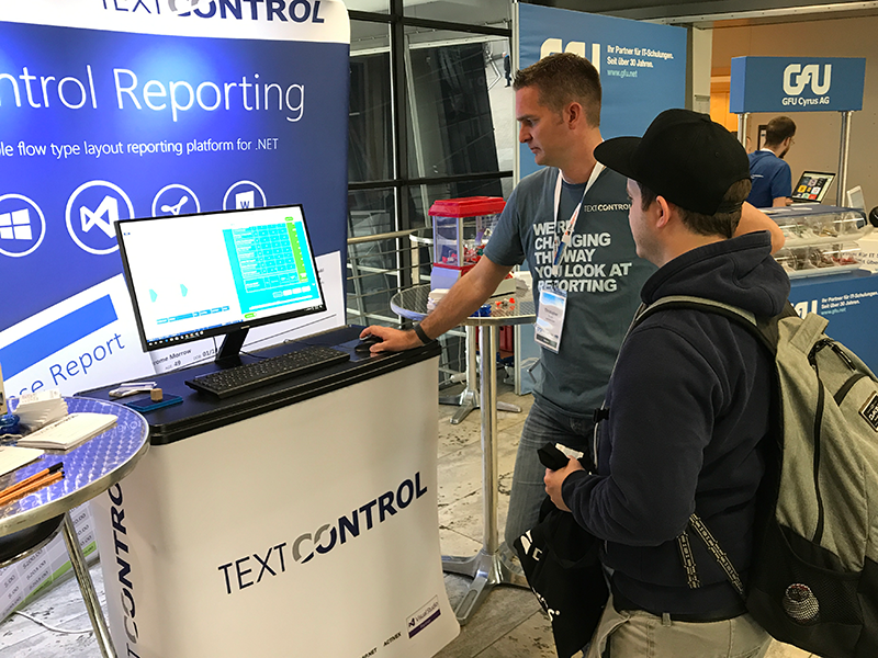 Text Control at Dotnet Cologne 2017