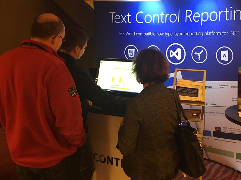 Text Control at DDC 2015