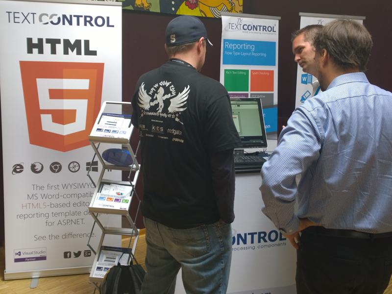 Text Control at NRWConf 2014
