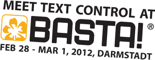 Visit Text Control at BASTA!