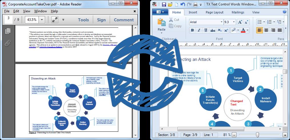 TX Text Control PDF Reflow