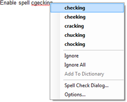 TX Spell .NET context menu
