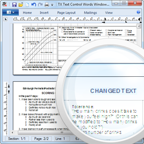 TX Text Control PDF import