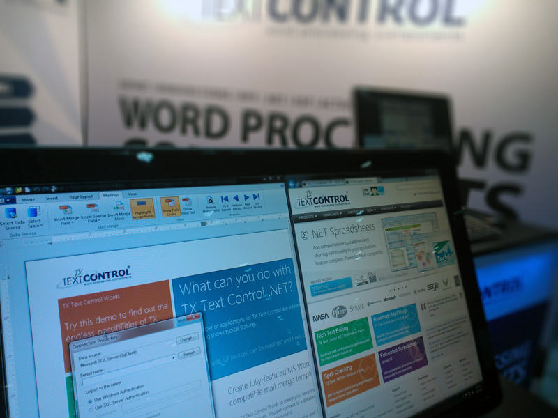 Text Control at TechEd North America 2012