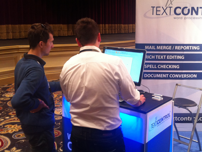 TX Text Control @ DevConnections