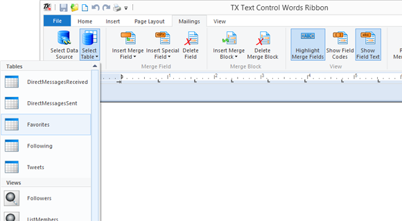 TX Words with RSSBus integration