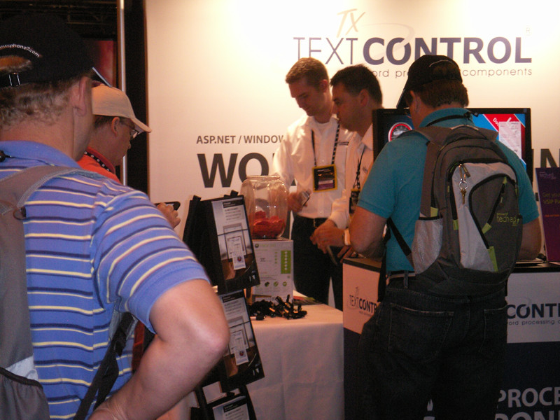 TX Text Control at Tech·Ed 2010