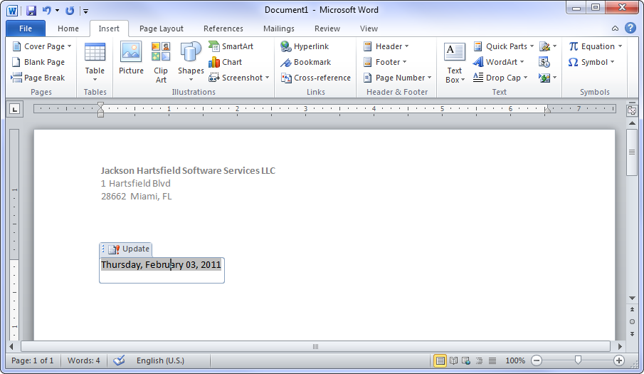 Creating mail merge templates in ms word 2010 date field in the template maxwellsz