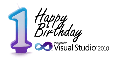 Happy Birthday Visual Studio 2010