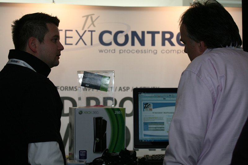 TX Text Control at BASTA! Spring 2011
