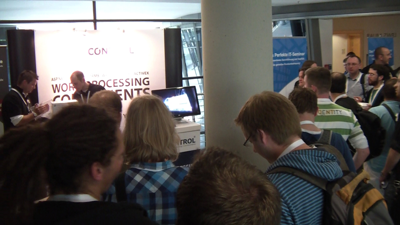 Text Control booth at dotnet Cologne 2011