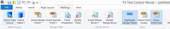 Open a data source