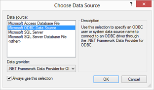 Open a data source