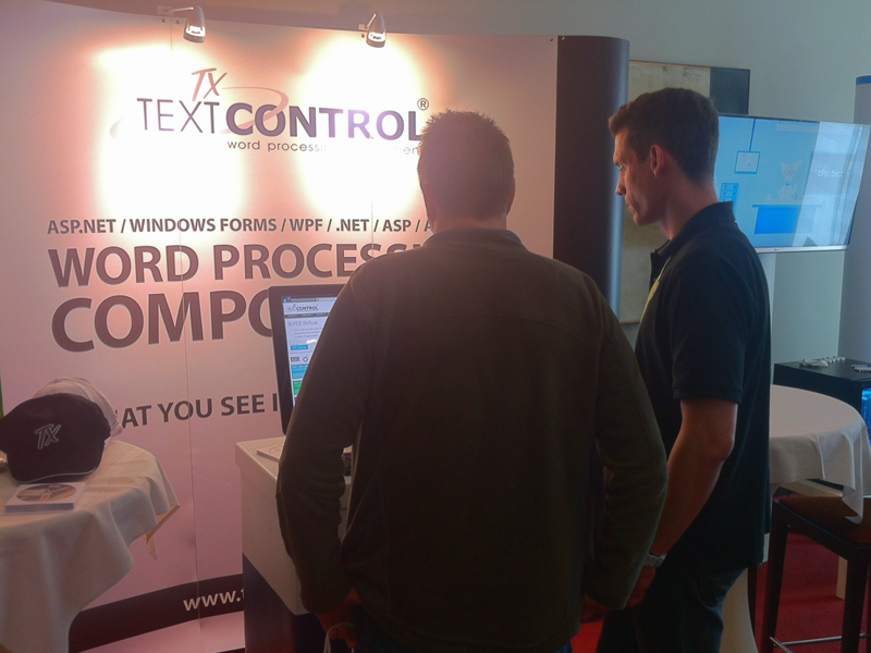 Text Control at .NET Day Franken