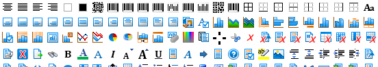 Built-in Context Menus and Icon Sets