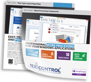 New Brochure: Text Control Executive Product Overview