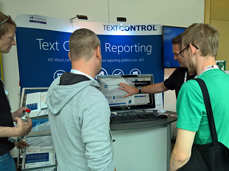 Text Control at Developer Week (DWX) 2016
