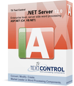 TX Text Control Server for ASP.NET (incl. Windows Forms) 12.0 released