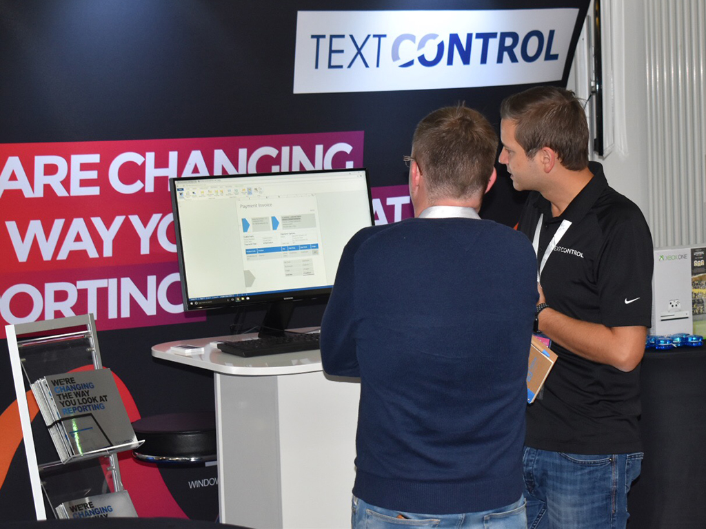 Text Control at BASTA! 2017