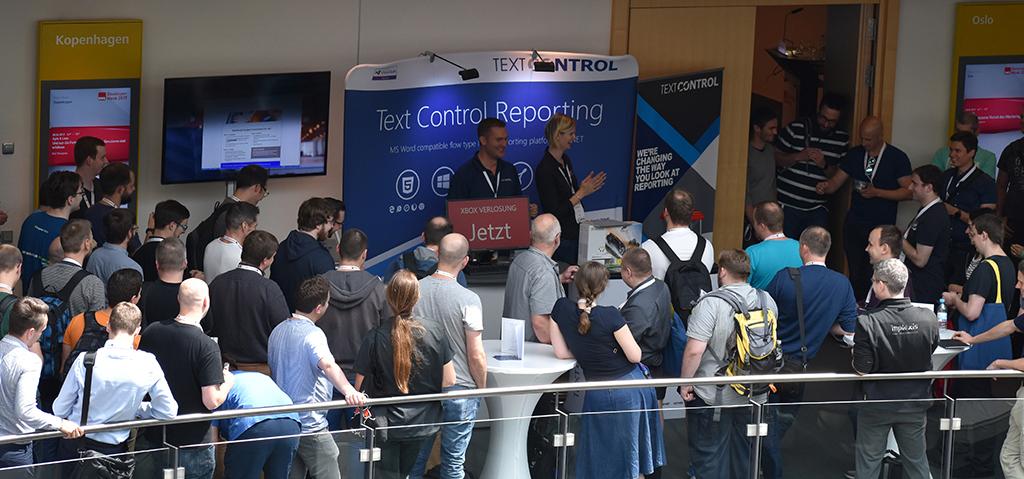 Raffle at DWX Developer Week 2017