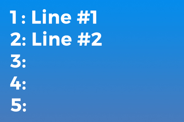Displaying Line Numbers in Windows Forms and WPF