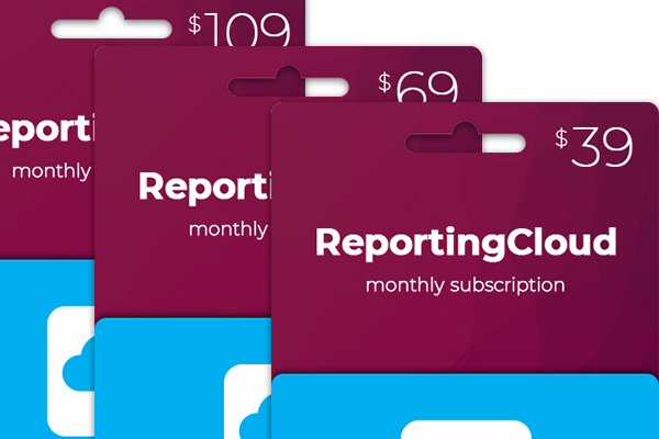 ReportingCloud Monthly Payment Available
