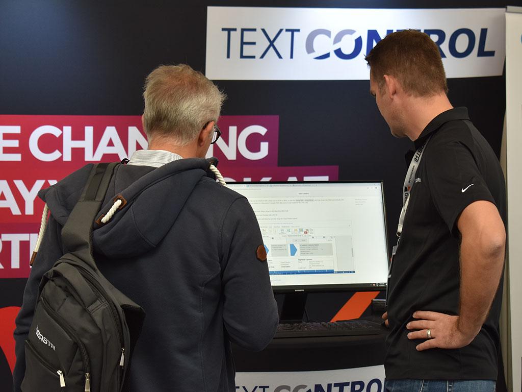 Text Control at BASTA! 2018