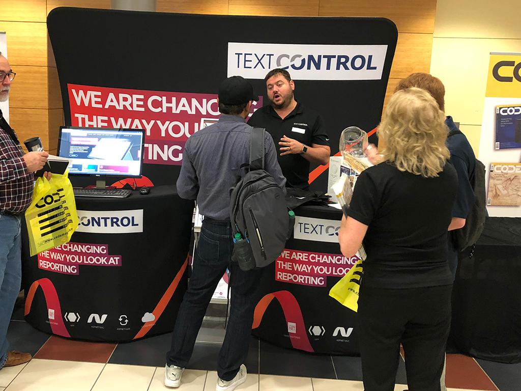 Text Control at Houston Tech Fest 2018
