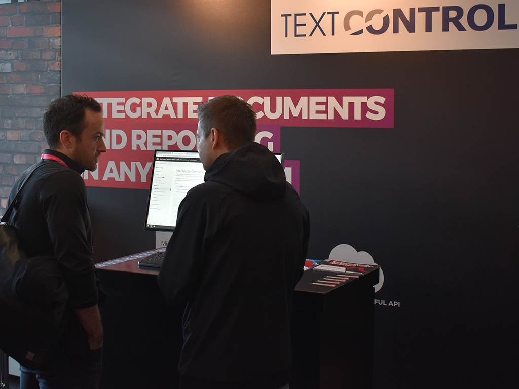 Text Control at NDC London 2019