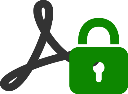 Encrypted PDF Import