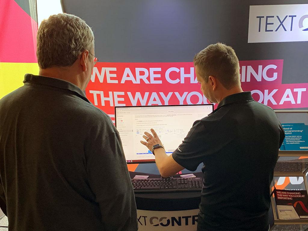 Text Control at WDC 2019