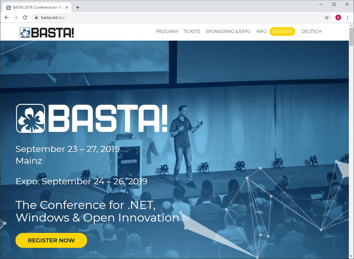 BASTA! website