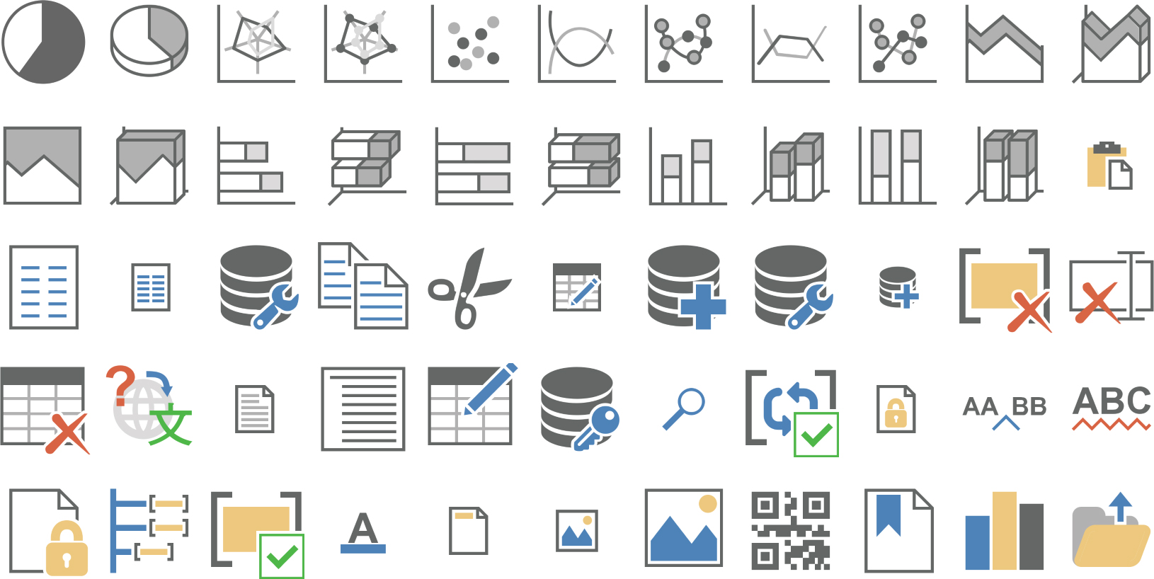 High Resolution Icons