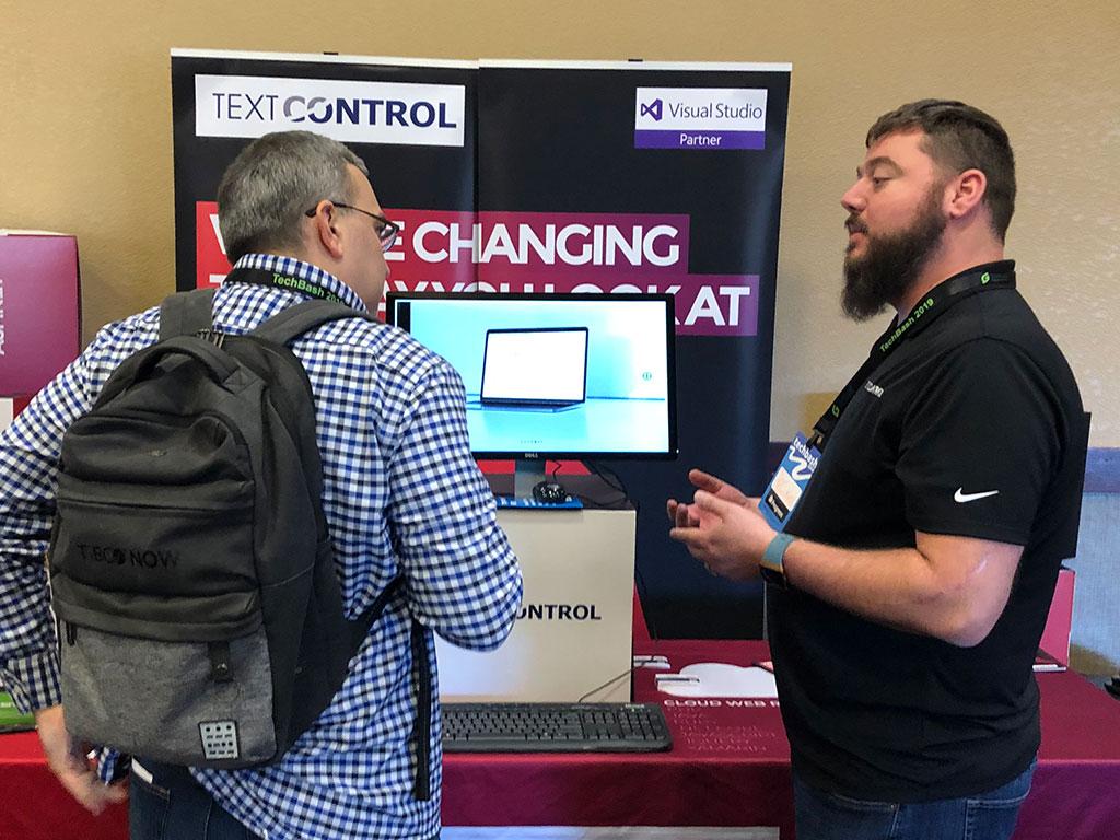 Text Control at TechBash 2019