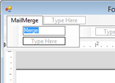 Using MailMerge in Windows Forms applications