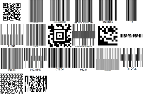 TX Barcode 3.0: 9 New Barcode Types
