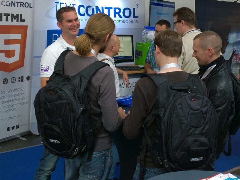 Text Control at BASTA! 2014