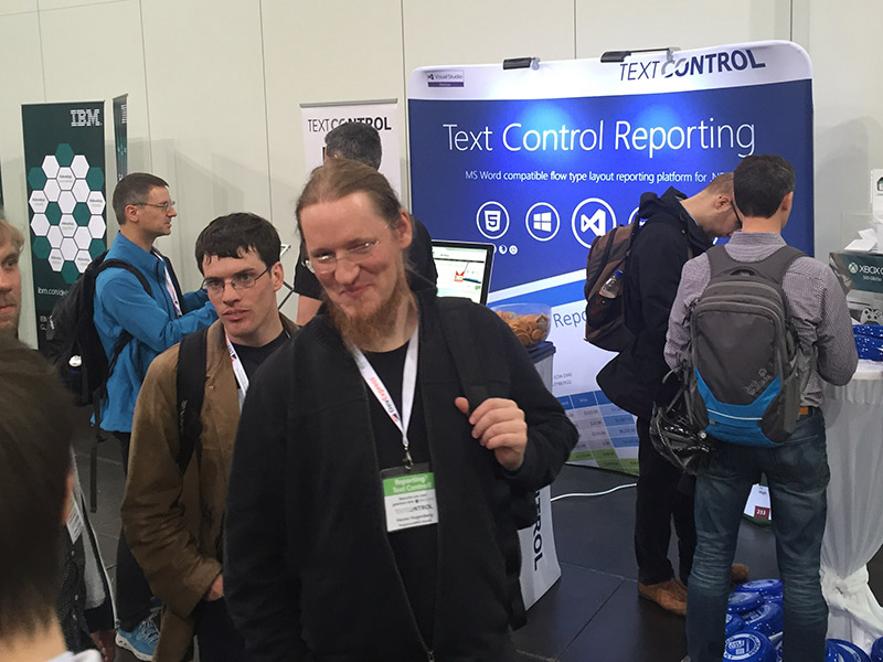 Text Control at mddevdays 2016