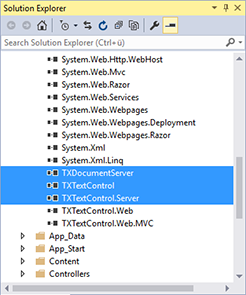 Updating ServerTextControl and DocumentServer