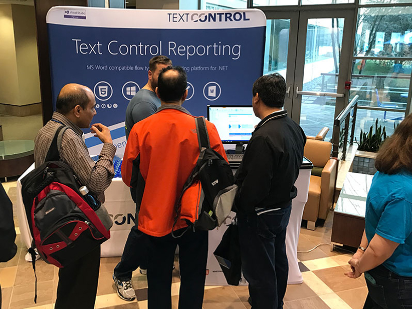 Text Control at Philly Code Camp