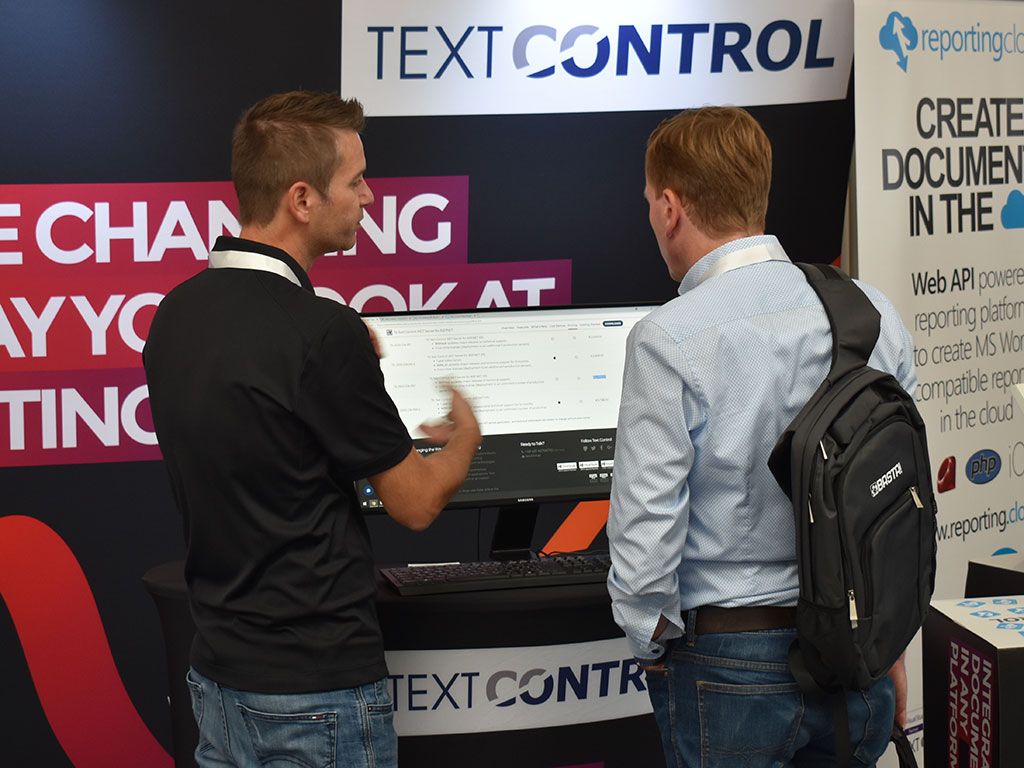 Text Control at BASTA! 2018