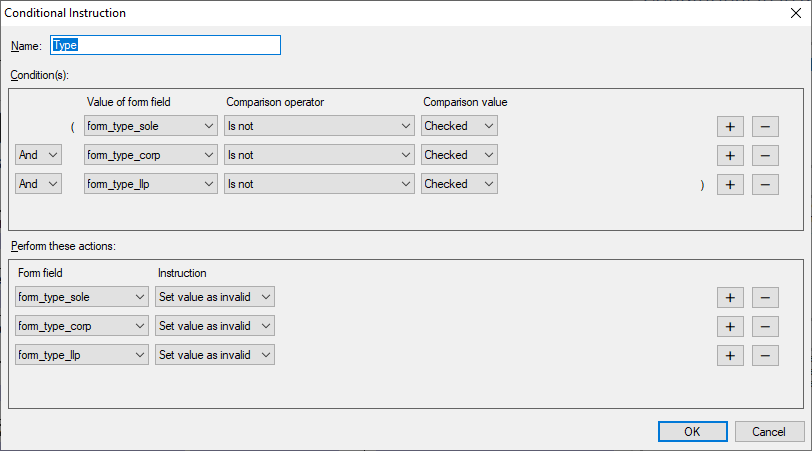 Form fields in TX Text Control