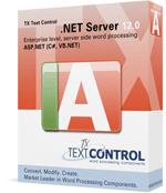 TX Text Control Server for ASP.NET (incl. Windows Forms) 12.0
