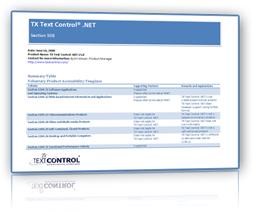 Text Control