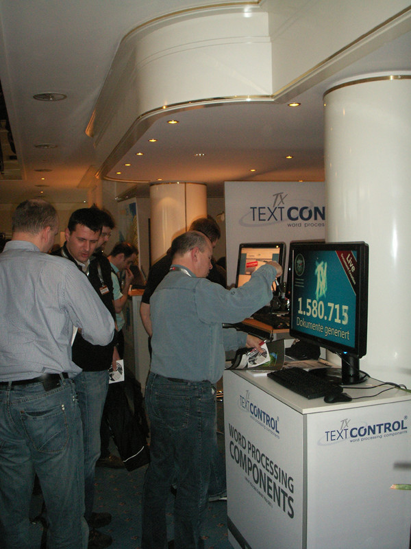TX Text Control booth