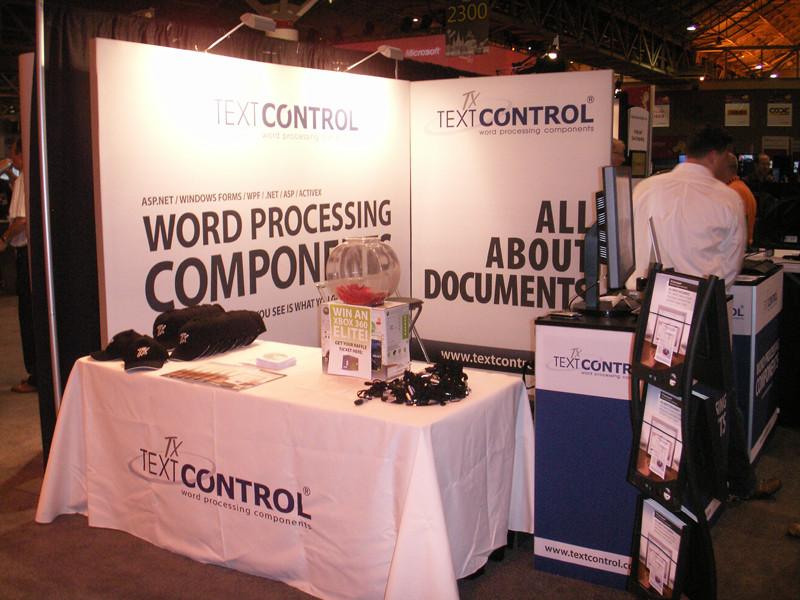 TX Text Control at Tech·Ed 2010