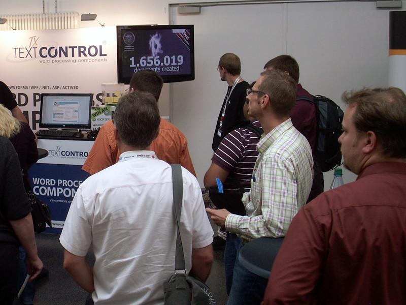 TX Text Control at BASTA! 2010